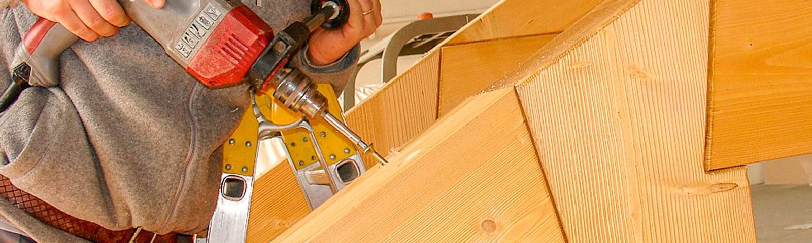 produzione capriate legno